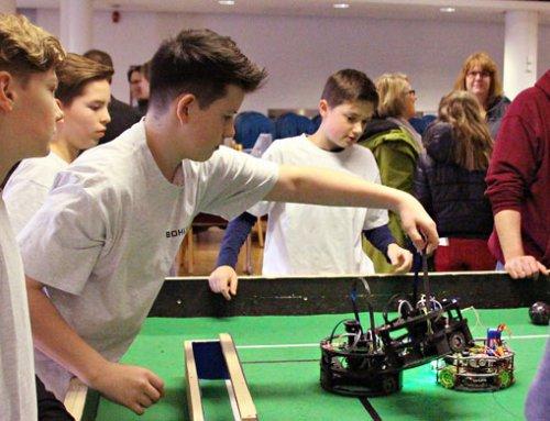 Robotic AG, Gymnasium Haan: Auf der Überholspur