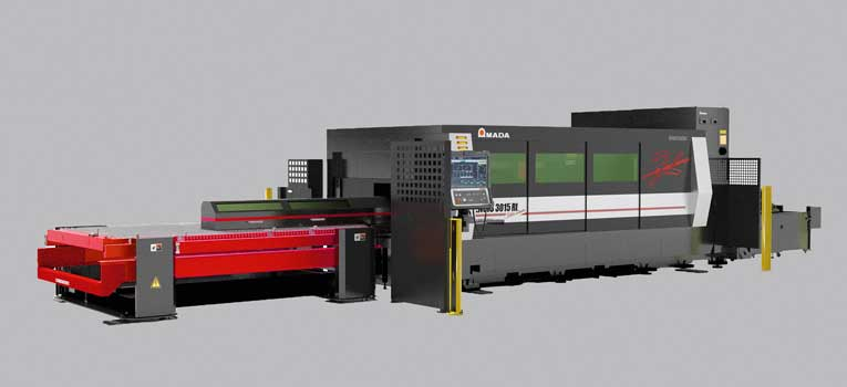 The ENSIS-3015AJ RI stands for smooth, trouble-free production at high speed and with optimum cutting quality.