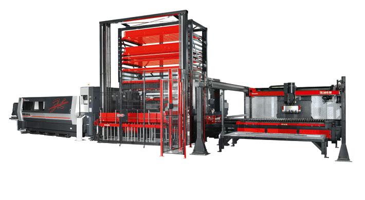 Mit den neuen Leistungsklassen eignet sich die AMADA ENSIS-3015AJ-Laserschneidanlage perfekt für das hochwertige, wirtschaftliche Schneiden von mittleren und dicken Blechen.