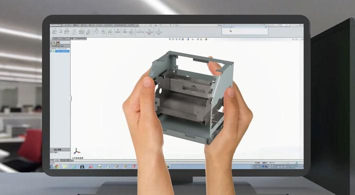 Umfassendes Monitoring und optimaler Service stehen im Mittelpunkt des erweiterten AMADA V-factory-Konzepts.