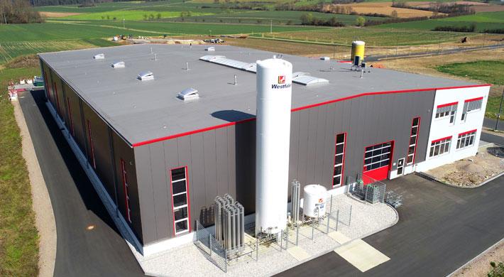 Die neue Anlage kommt im Trio-Werk in Luhe-Wildenau zum Einsatz.