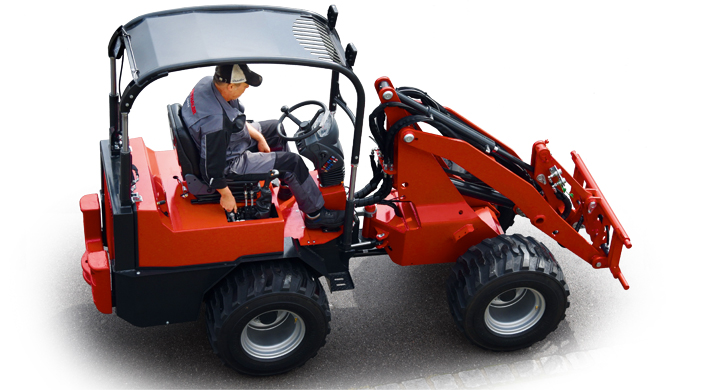 Etwa 90 Prozent aller Bauteile der Thaler-Radlader werden mit AMADA-Technologie gefertigt